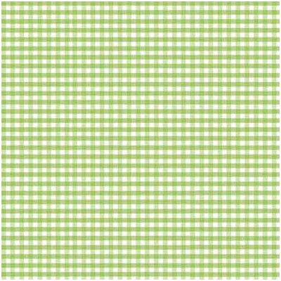 Gingham Jersey Knit Fabric By The Yard Color: Sage