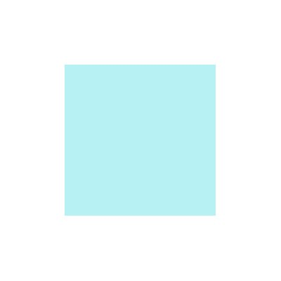 Solid Jersey Knit Fabric By The Yard Color: Aqua