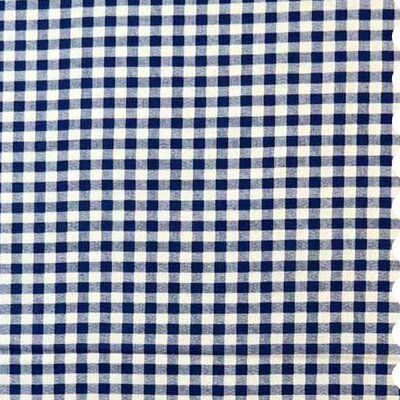 Gingham Check Fabric By The Yard Color: Royal