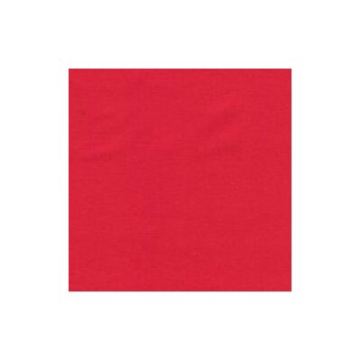 Solid Woven Fabric By The Yard Color: Red
