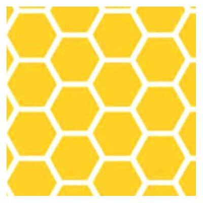 Honeycomb Fabric By The Yard Color: Lemon
