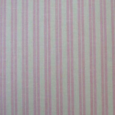 Dual Stripe Fabric By The Yard Color: Pink