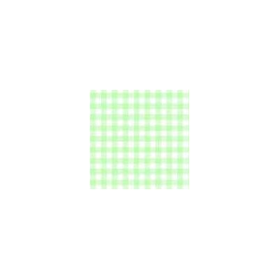 Pastel Gingham Woven Fabric By The Yard Color: Green
