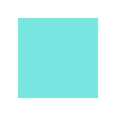 Solid Woven Fabric By The Yard Color: Aqua