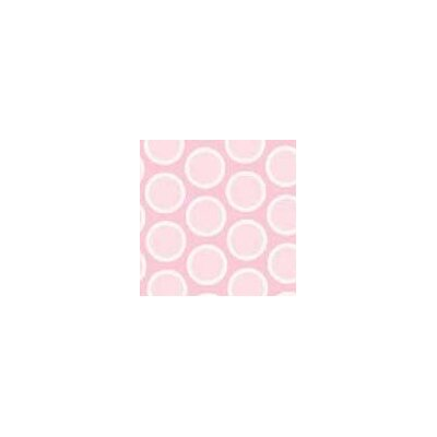Pastel Bubbles Woven Fabric By The Yard Color: Pink