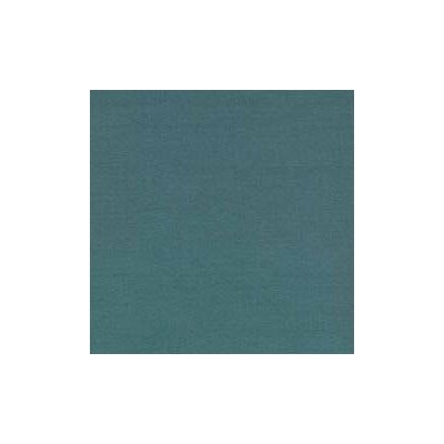 Solid Woven Fabric By The Yard Color: Teal