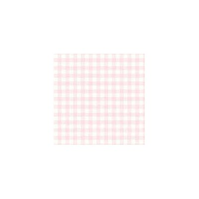 Pastel Gingham Woven Fabric By The Yard Color: Pink