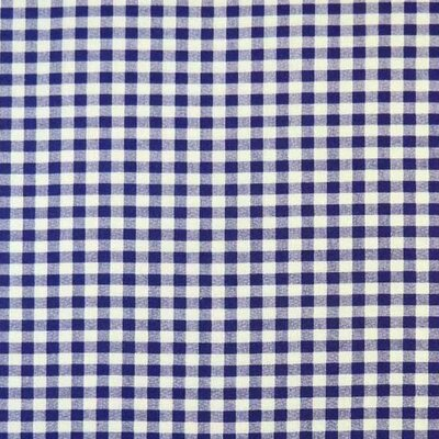 Gingham Check Fabric By The Yard Color: Purple