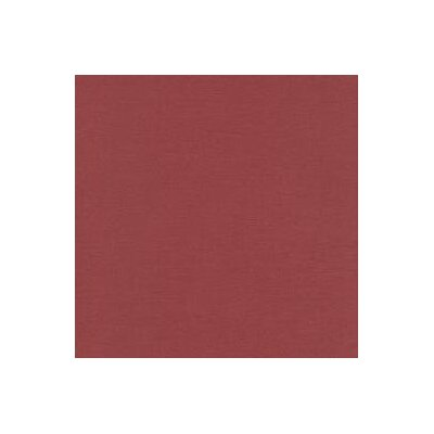 Solid Woven Fabric By The Yard Color: Burgundy