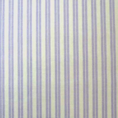 Dual Stripe Fabric By The Yard Color: Lavender