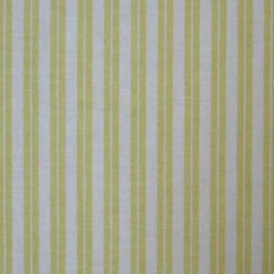 Dual Stripe Fabric By The Yard Color: Yellow