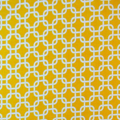 Links Fabric By The Yard Color: Lemon Yellow