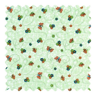 Butterfly Daisy Fabric By The Yard