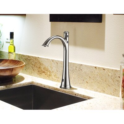 Touchless Deck Mounted Kitchen Faucet Finish: Polished Nickel