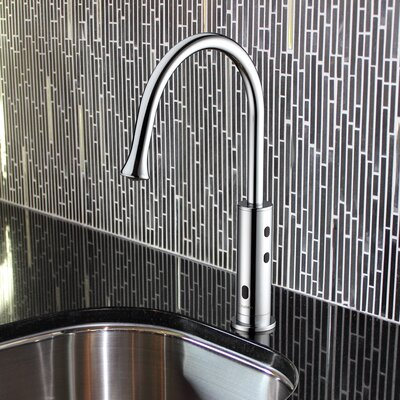 Touchless Deck Mounted Kitchen Faucet Finish: Chrome