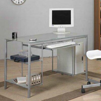 Computertisch | Büro > Bürotische > Computertische | Silbertransparent | Hokku Designs