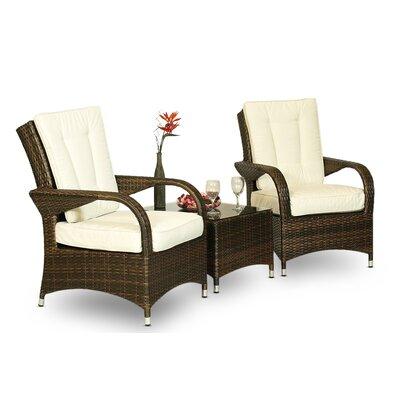 2-tlg. Sessel-Set mit Kissen   Wohnzimmer > Sessel > Loungesessel   Rattan   Hokku Designs