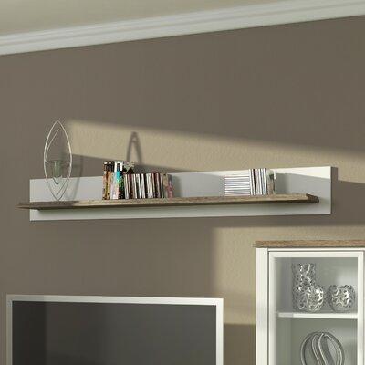 Schweberegal Melton Mowbray | Wohnzimmer > Regale > Hängeregale | Whitebrownnatural | Holzwerkstoff | Brambly Cottage