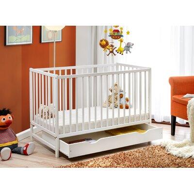 Babybett Kristopher   Kinderzimmer > Babymöbel > Babybetten & Babywiegen   Weiß   Viv + Rae