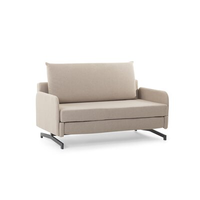 Ancla Convertible Sofa Bed Upholstered: Beige