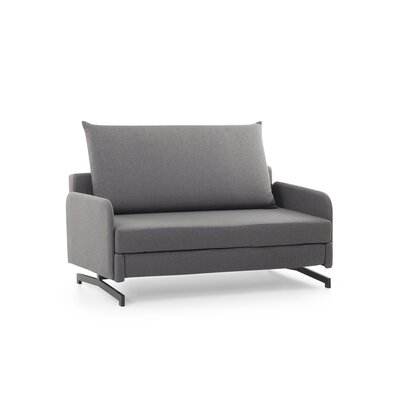 Ancla Convertible Sofa Bed Upholstered: Gray