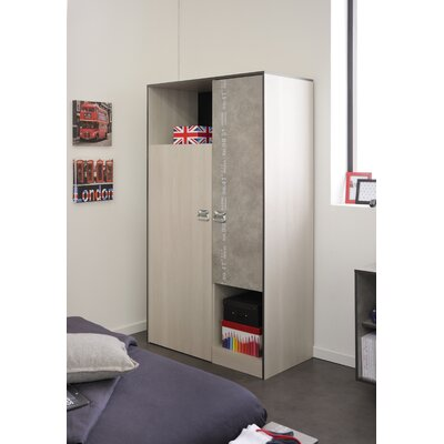 Laureole 2 Door Wardrobe Armoire