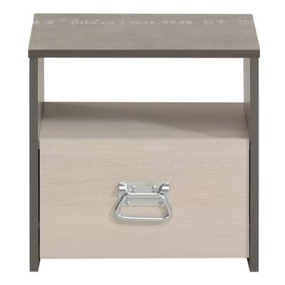 Laureole 1 Drawer Nightstand