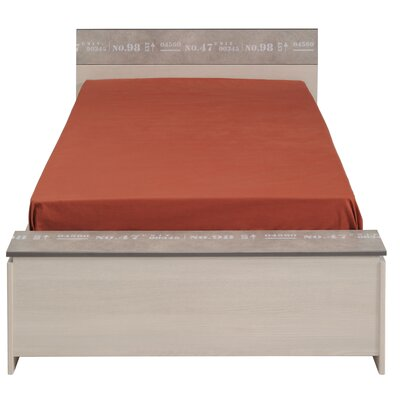 Laureole Twin Storage Panel Bed