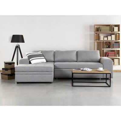 Rula Corner Sofa Upholstery : Light Grey