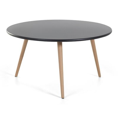 Nessa Coffee Table Top Color: Black