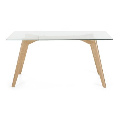 Hadley Dining Table Size: 29 H x 63 W x 35 D