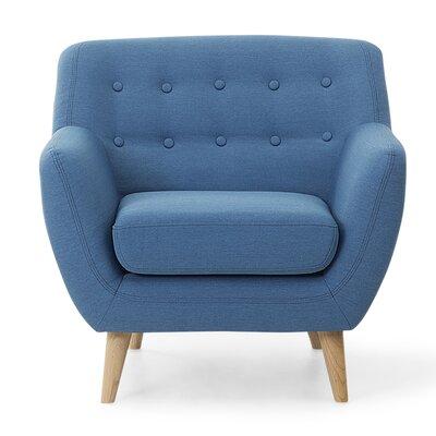 Tally Armchair Upholstery: Blue