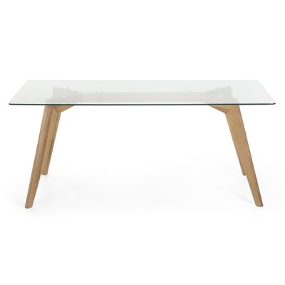 Hadley Dining Table Size: 29 H x 71 W x 35 D