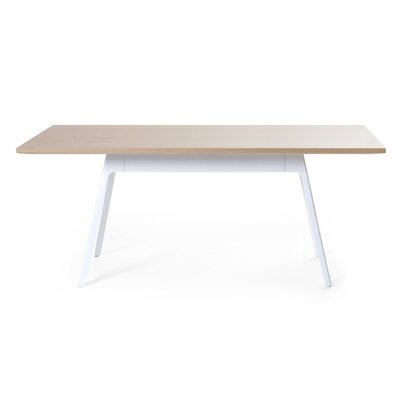 Frida Dining Table Base Color: White