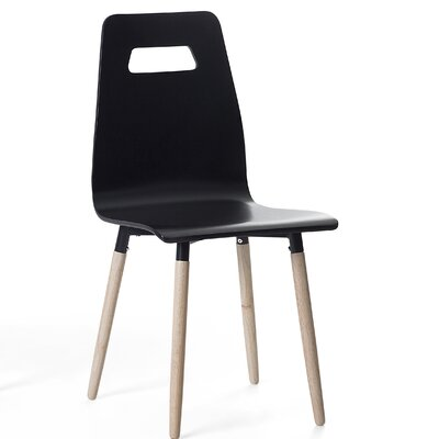 Bola Dining Chair Color: Black