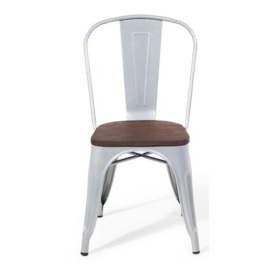 Polly Dining Chair Color: Silver