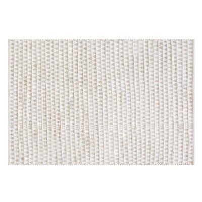 Tunceli Handwoven Beige Area Rug Rug Size: Rectangle 53 x 77