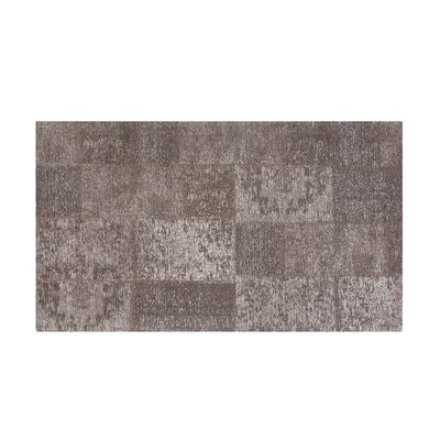 Toysa Hand-woven Wool Brown Area Rug Rug Size: Rectangle 27 x 411