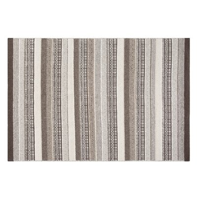 Polatli Handwoven Wool Brown Area Rug Rug Size: Rectangle 53 x 77
