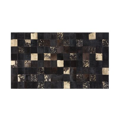 Bandirma Hand-Woven Brown Area Rug Rug size: Rectangle 27  x 59