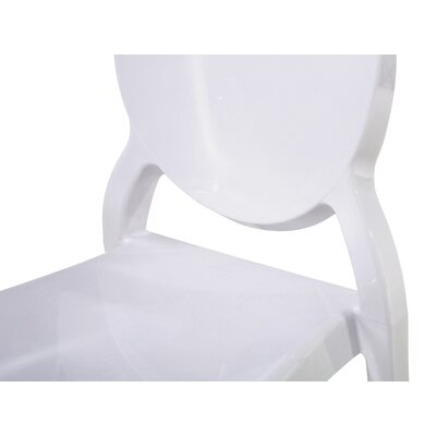 Merton Dining Chair Color: White