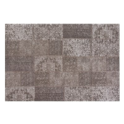Toysa Hand-woven Wool Brown Area Rug Rug Size: Rectangle 53 x 77
