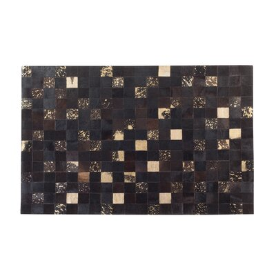 Bandirma Hand-Woven Brown Area Rug Rug size: Rectangle 47 x 66