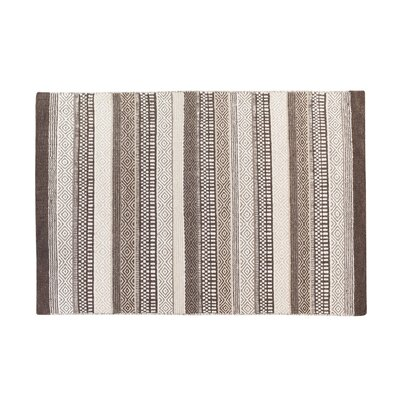 Polatli Handwoven Wool Brown Area Rug Rug Size: Rectangle 311 x 57