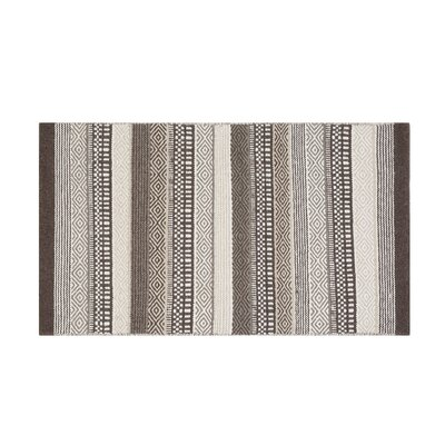 Polatli Handwoven Wool Brown Area Rug Rug Size: Rectangle 27 x 411