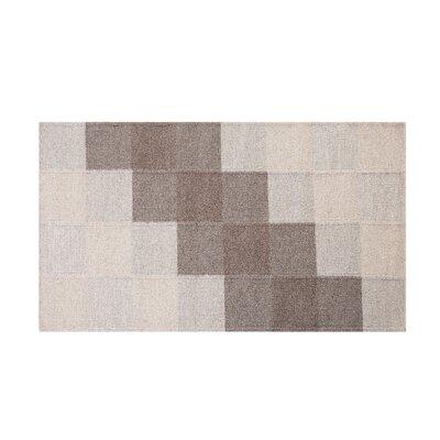 Nizip Handwoven Wool Brown/Beige Area Rug Rug Size: Rectangle 27 x 411
