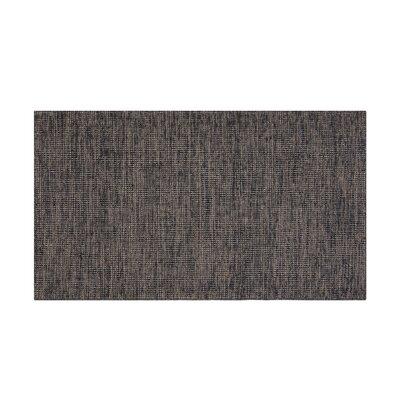 Saray Handwoven Wool Brown Area Rug Rug Size: Rectangle 27 x 411