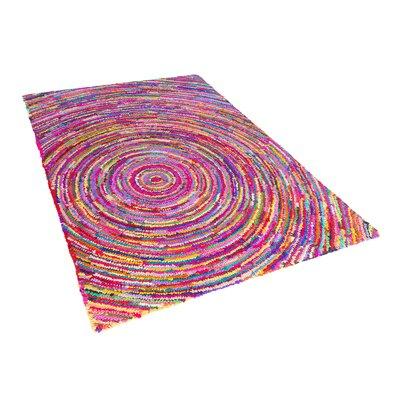 Malatya Pink Area Rug Size: 47 x 66