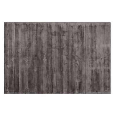 Gesi Handwoven Dark Gray Area Rug Rug Size: Rectangle 53 x 77