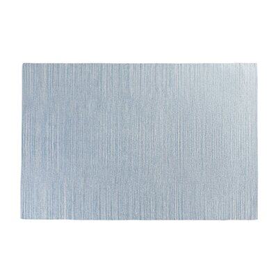 Derince Handwoven Light Blue Area Rug Size: 47 x 66